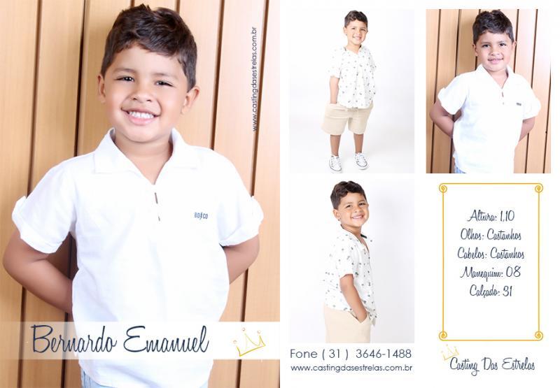 Bernardo Emanuel Casting das Estrelas